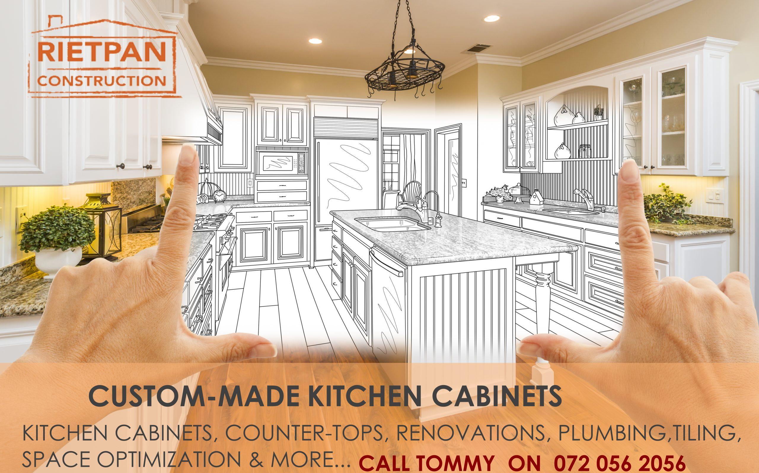Custom Kitchen Design & Installation